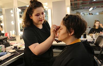 Behind the scenes in NIDA Make-up Department