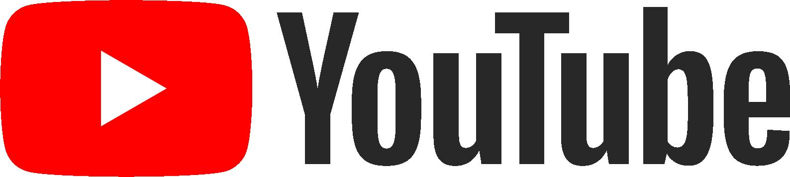 YouTube logo - links to YouTube website