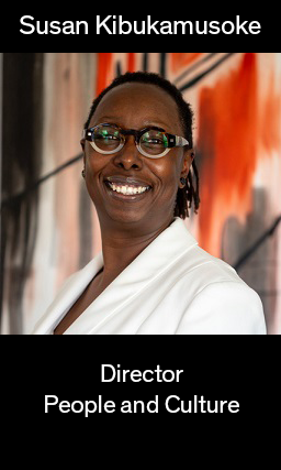 Image of People and Culture Director Susan Kibukamoske, links to bio