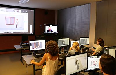 Leading film designer tutors NIDA students in virtual classroom