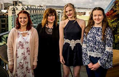 Adelaide Open scholarships winners