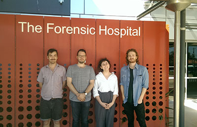 Design Students at the Forensic Hospital